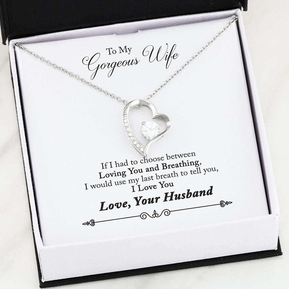 ♥ Birthday gift for wife: -High polished heart pendant surrounding a flawless 6.5mm Cubic Zirconia, embellished with smaller Cubic Zirconia adding sparkle and shine. The pendant is available in 14k White Gold finish or 18k Yellow Gold finish, and includes an 18 inch cable chain with 4 inch extension and lobster clasp. ♥ Christmas gifts for wife: -Give a gift that shows how much you care. Whether you're newlywed or married for years, make this Christmas extra special with our love gift Necklace.