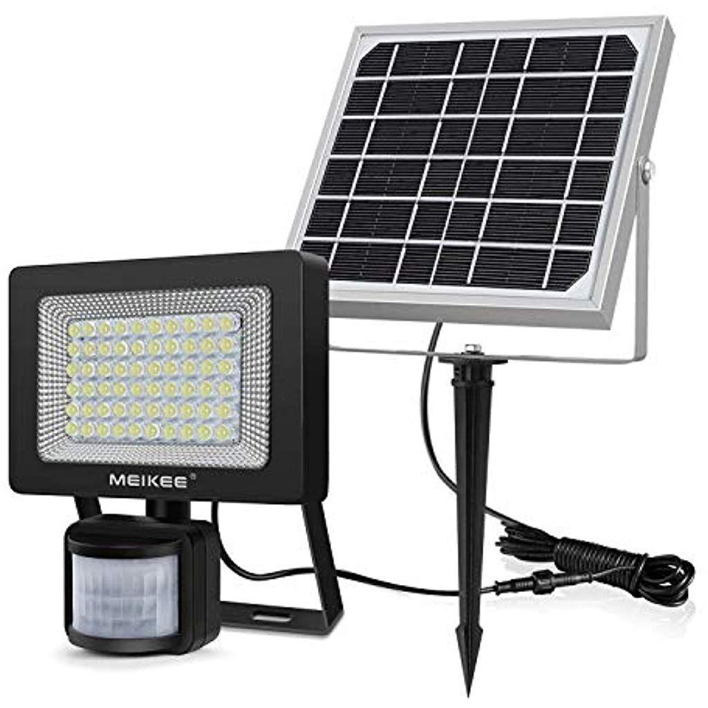 Eclairage Solaire Pour Tonnelle projecteur solaire exterieur avec détecteur mouvement led