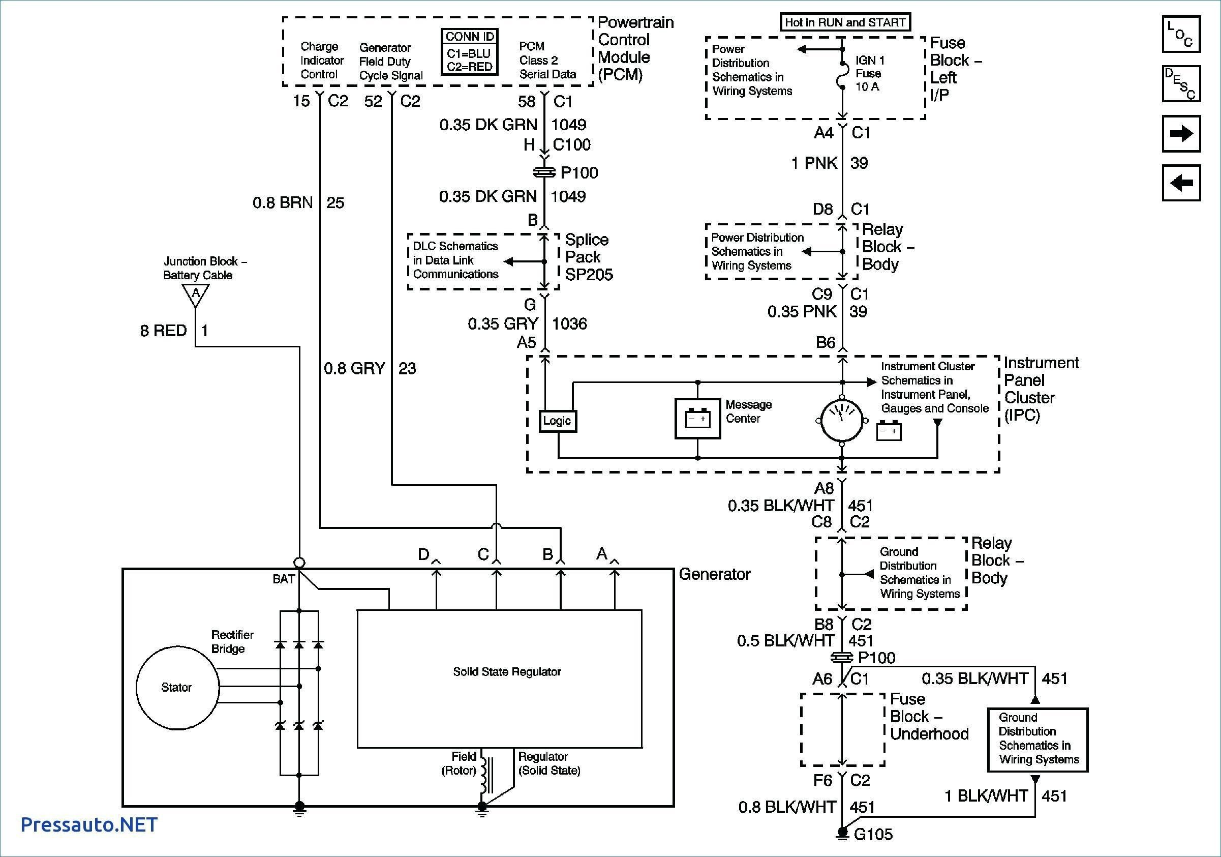 Wiring Diagram For Unique In 2020 Electrical Wiring Diagram Diagram Alternator