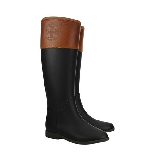 c43d05bac077 Tory Burch Diana Rainboot These have kept my feet dry with all this melting  snow!