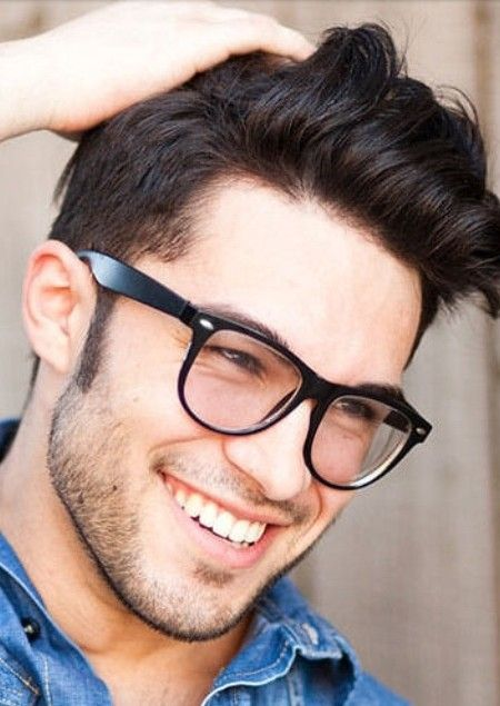 7a21ec162b63 Short Hairstyles with Glasses for Men | Haircuts, Hairstyles 2016 / 2017  and Hair colors for short long & medium hair