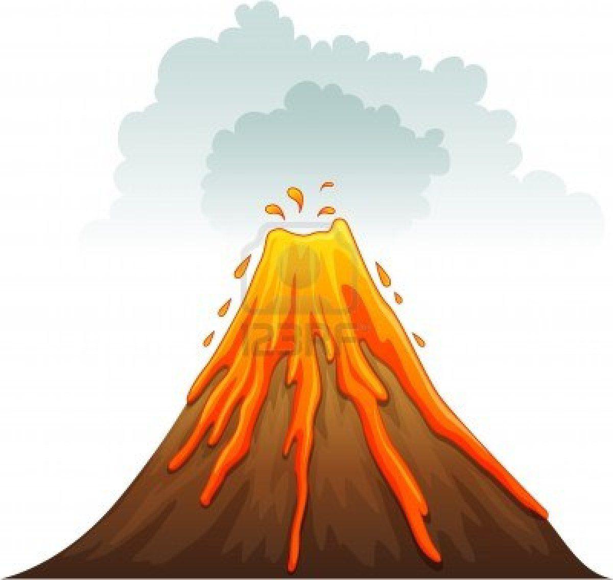 Cartoon Volcano Volcano Cartoon Volcano Drawing Cute Cartoon Wallpapers