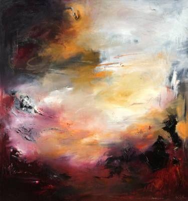 "Saatchi Art Artist Nicholas Kriefall; Painting, ""Petrichor"" #art"