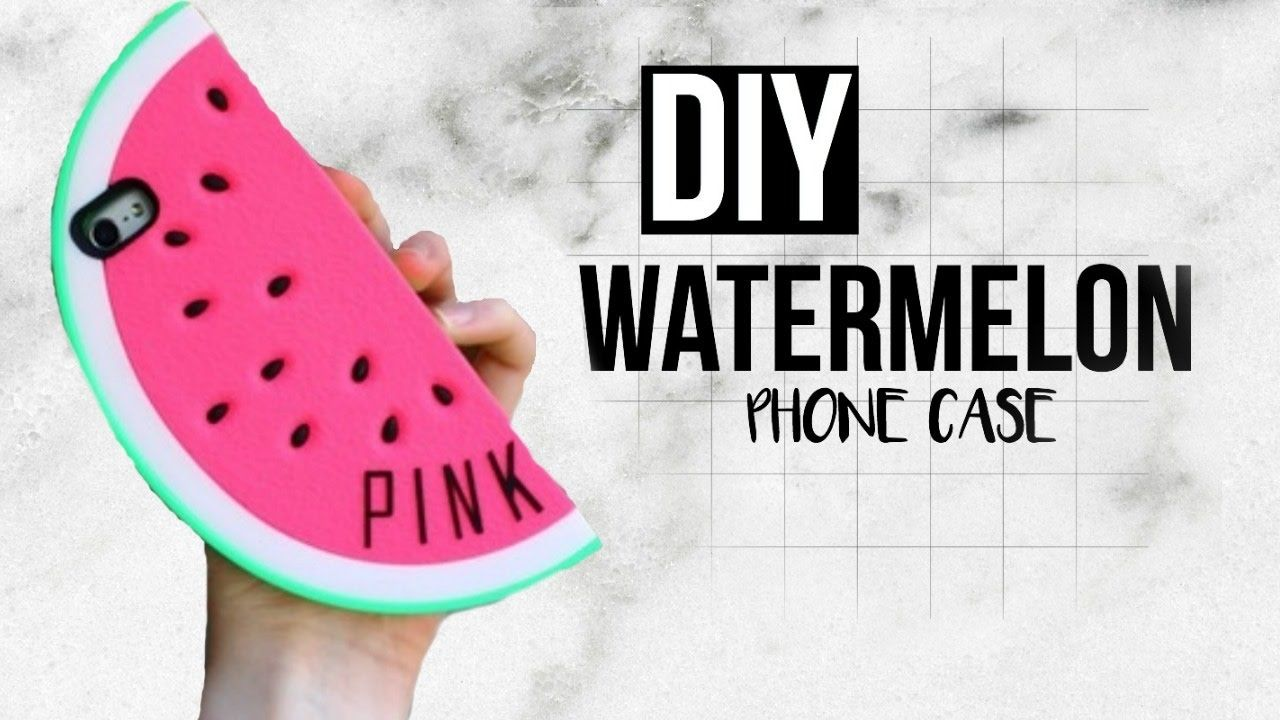 DIY Phone Case Watermelon (SILICONE) Diy phone case