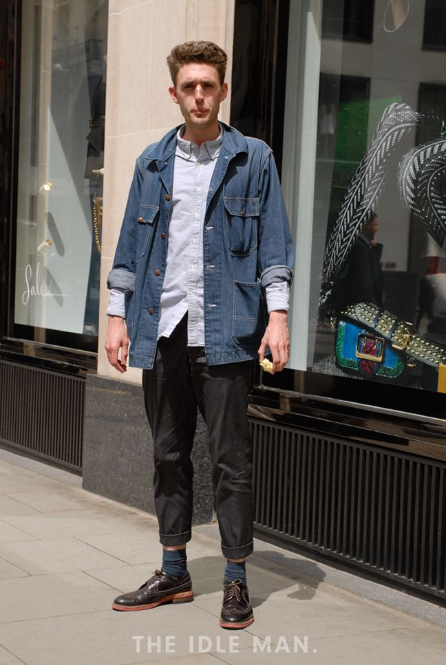 Men S Street Style Casual But Smart A Work Pant And Longline