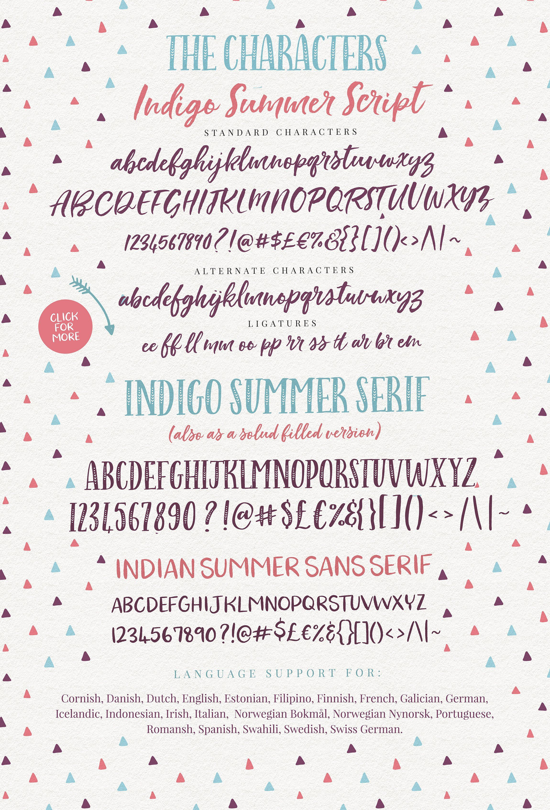 A Fun Handwriting Font Trio Display All Caps Serif With Arrow Heads Script Lettering