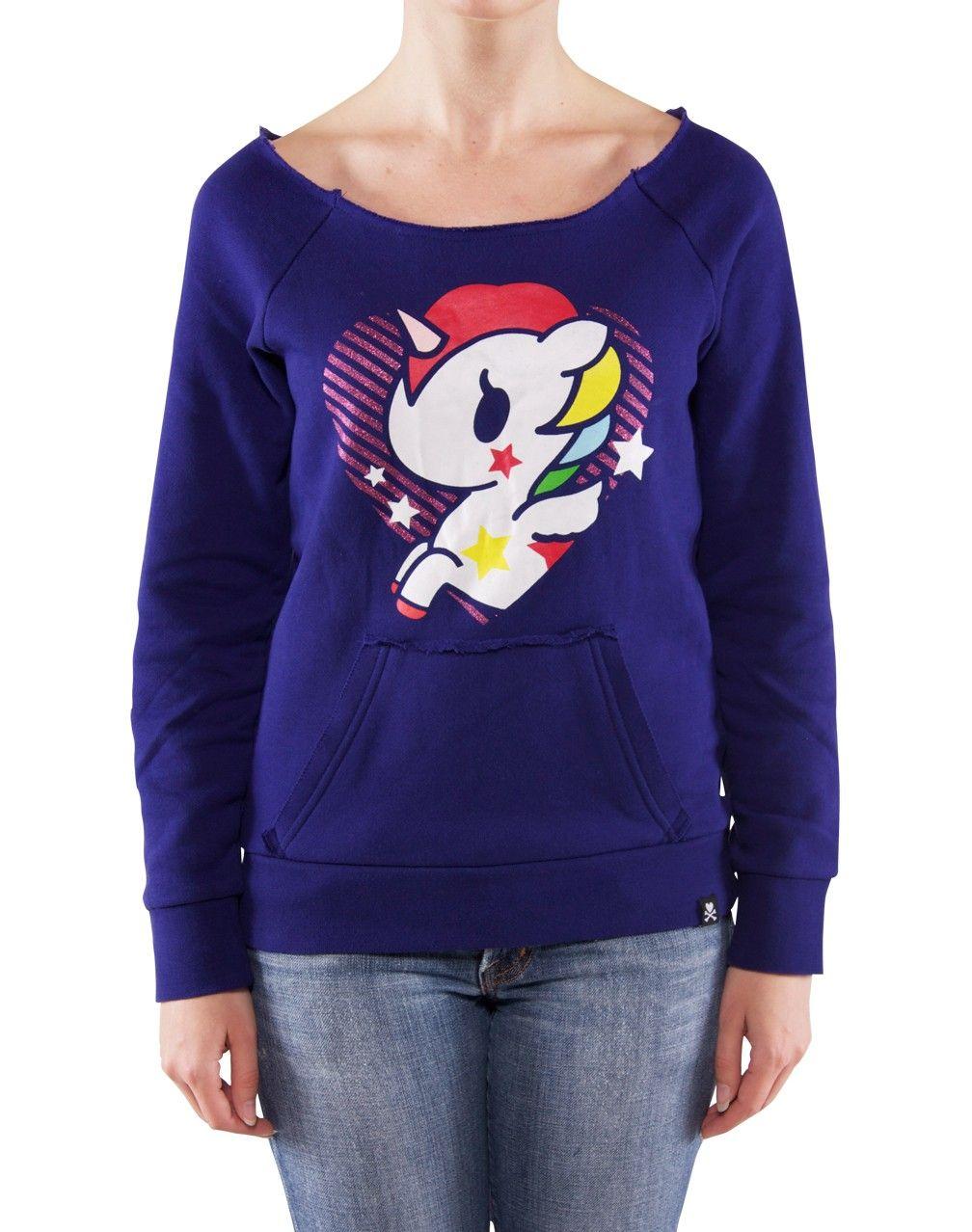 Glitzy Unicorno Womens Sweater $66 #tokidoki #unicorno #unicorn