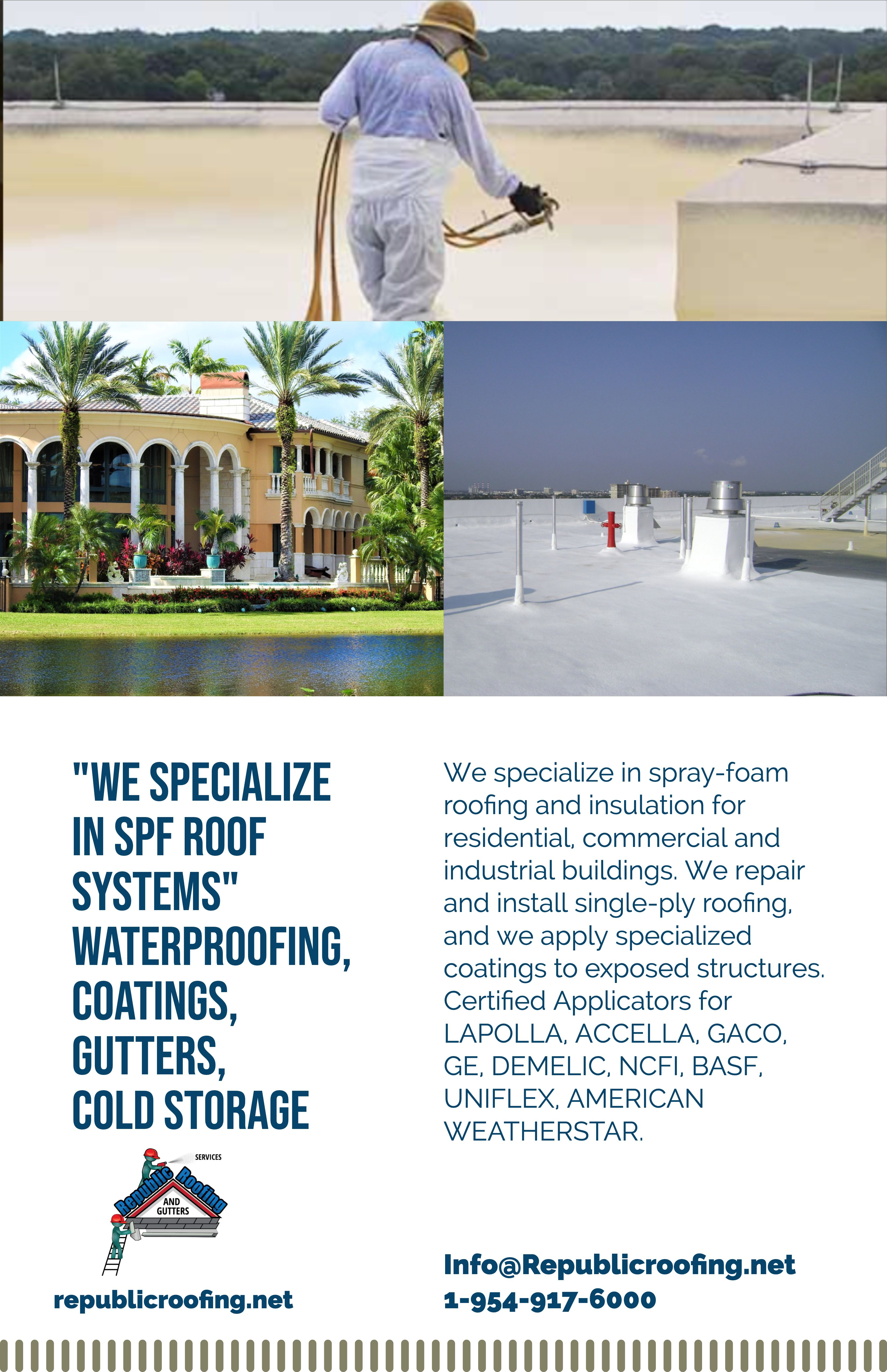 Roofing Services South Florida Roofing Roofing Services Foam Roofing