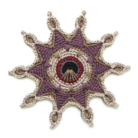 Crochet Coaster PATTERN \