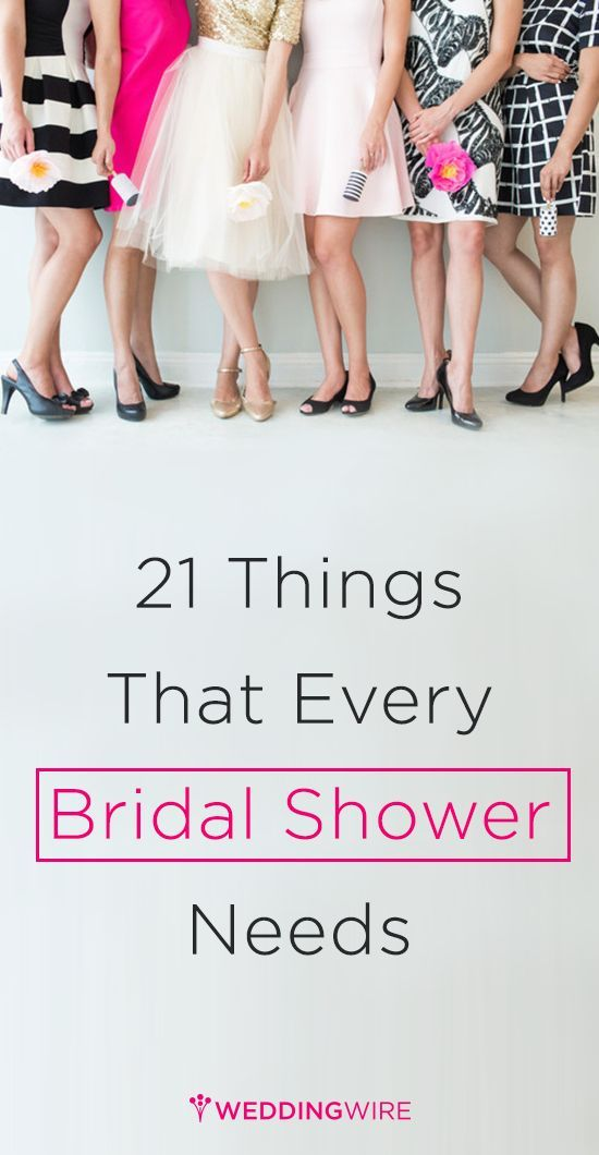 calling all bridesmaids and planners weddingwire has put together 21 awesome items to add a little extra umph to the bridal shower