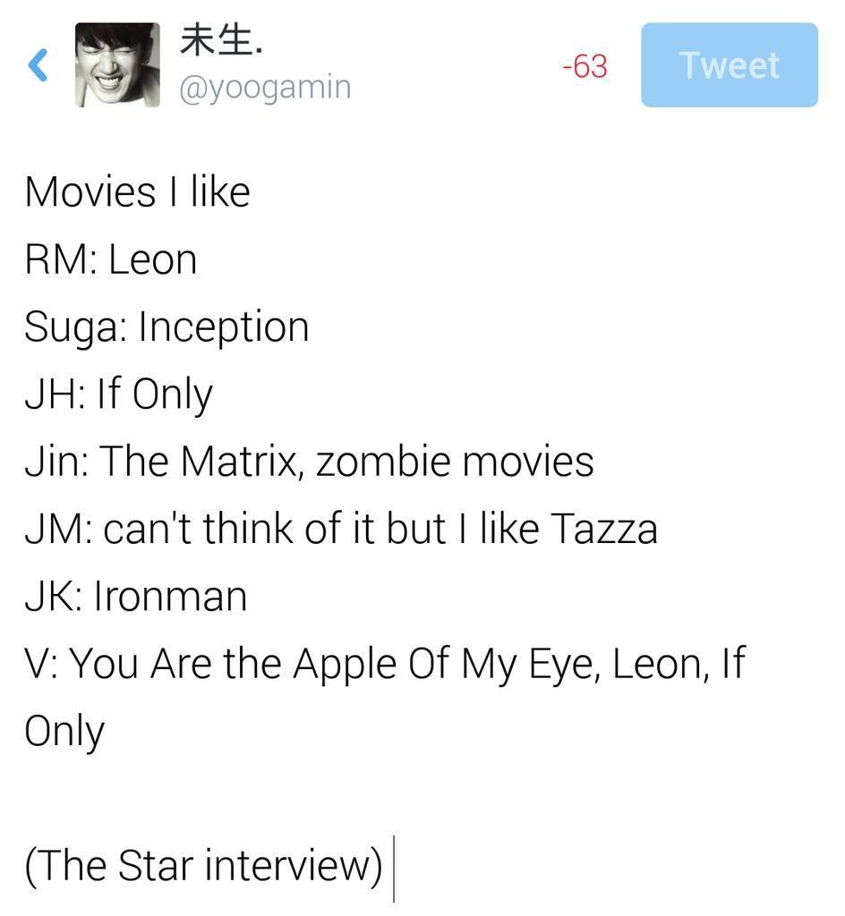 bts on star interview bangtan ❤ interview stars bts on star interview