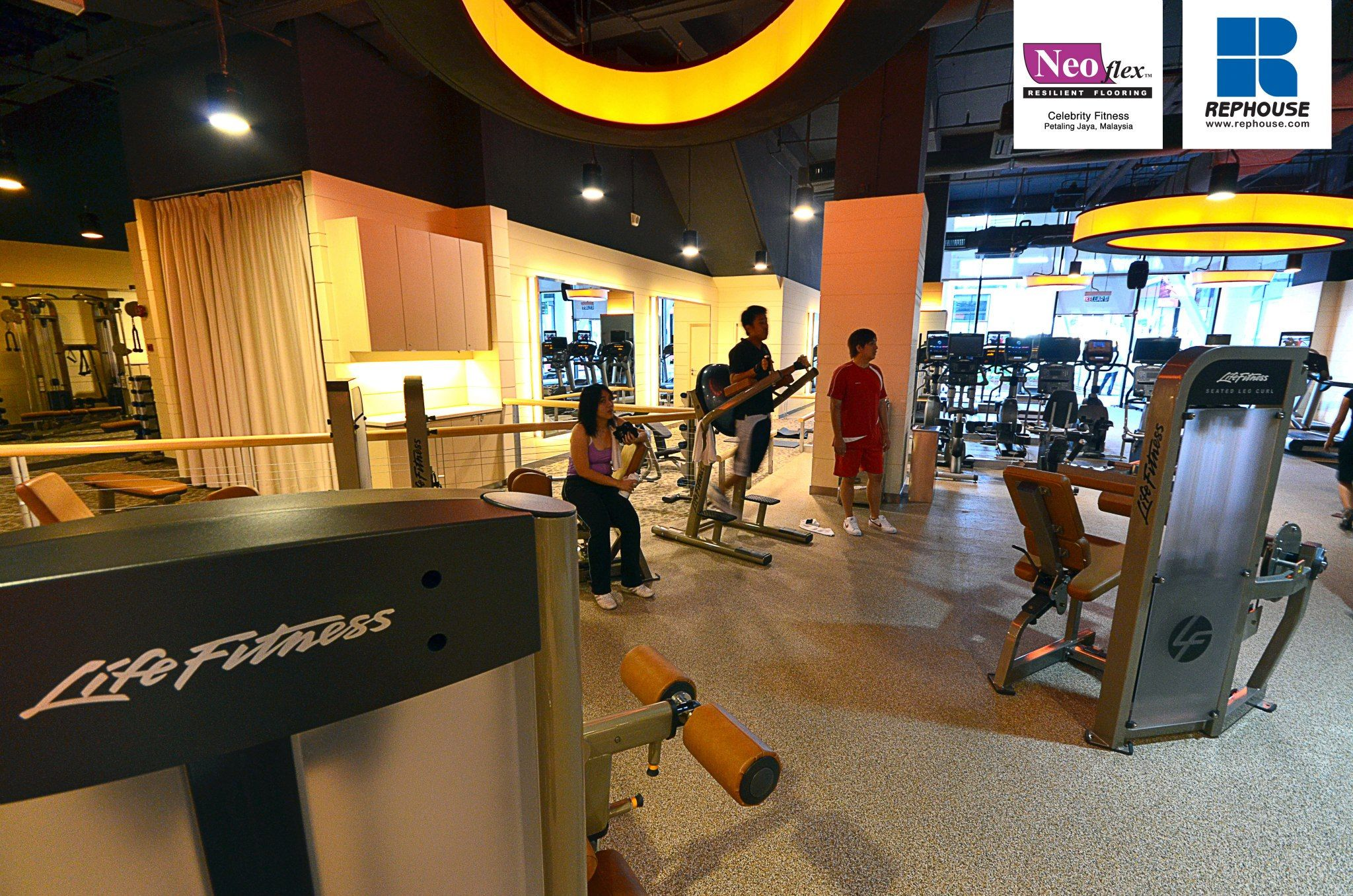 Neoflex 700 Series Rubber Fitness Flooring Celebrity