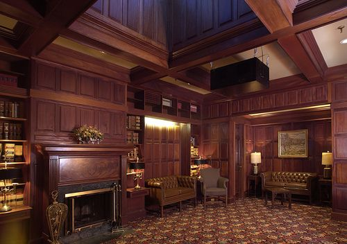 Mahogany Library Great Rooms And Spaces Wood