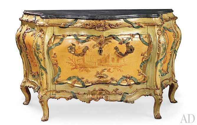 Collecting Italian Painted Furniture - Collecting Italian Painted Furniture Venetian, Architectural