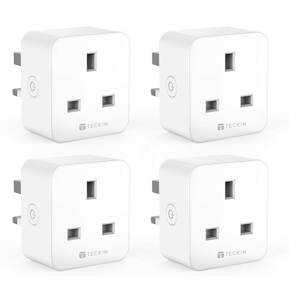 TECKIN WiFi Smart Plug, Mini Outlet Smart Socket, Energy