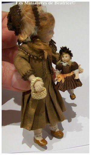 A tiny doll
