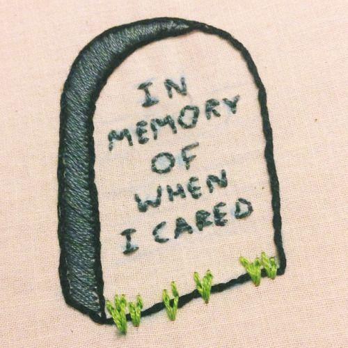 Photo of En souvenir de quand je m'en suis occupé: broderie # daran #erinnerun … – Tatiana Gödde Embroidery Blog
