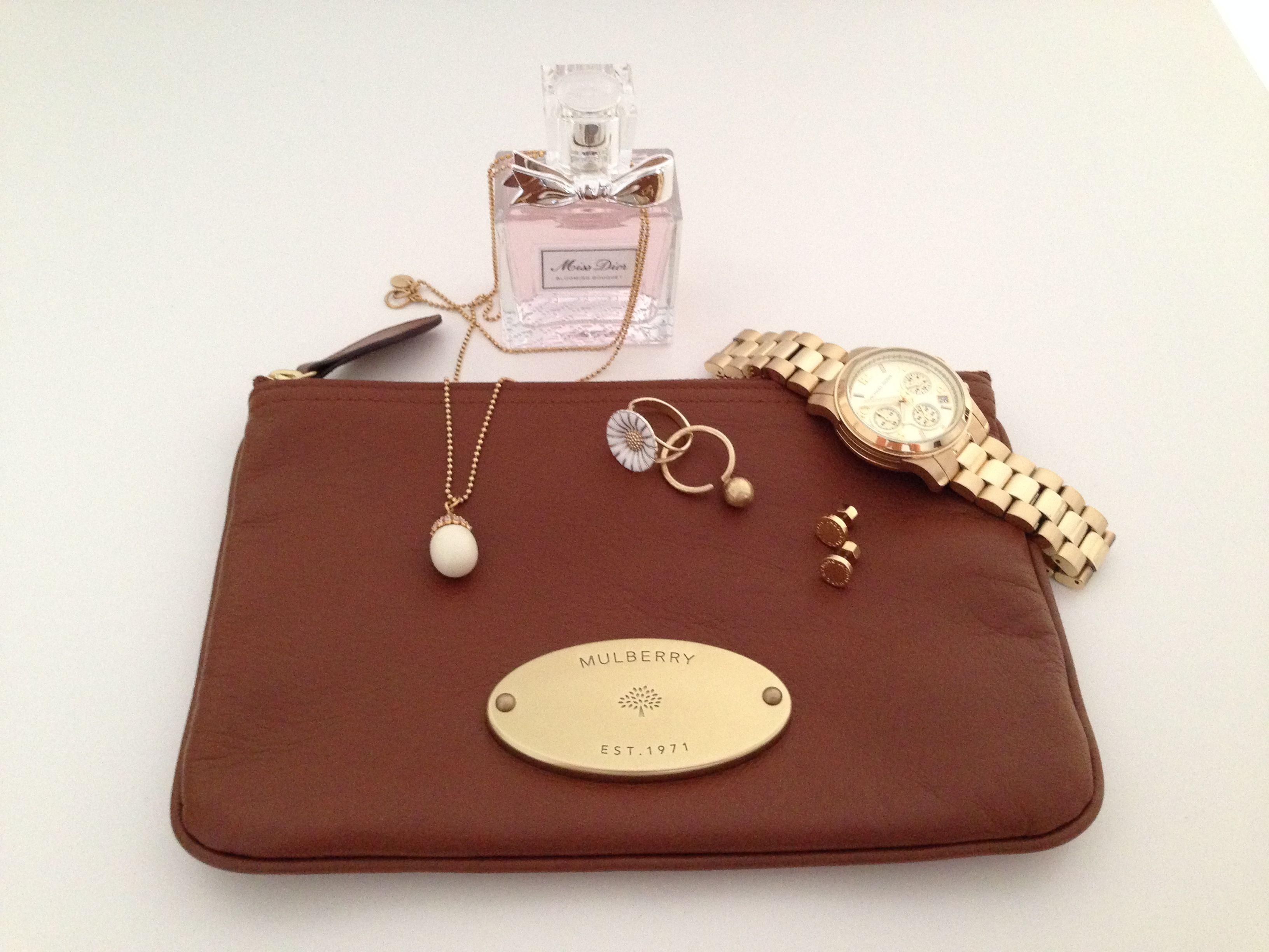 Various designer accessories