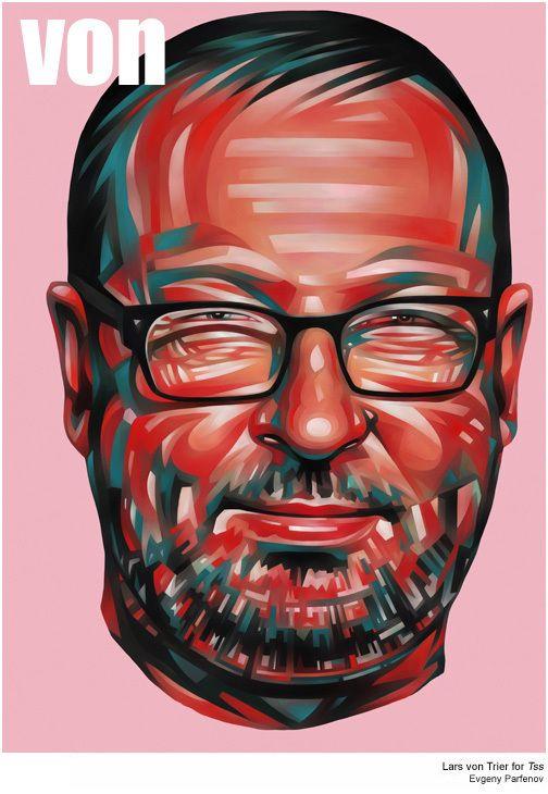 Evgeny Parfenov Posterized Portraits Illustration Graphic