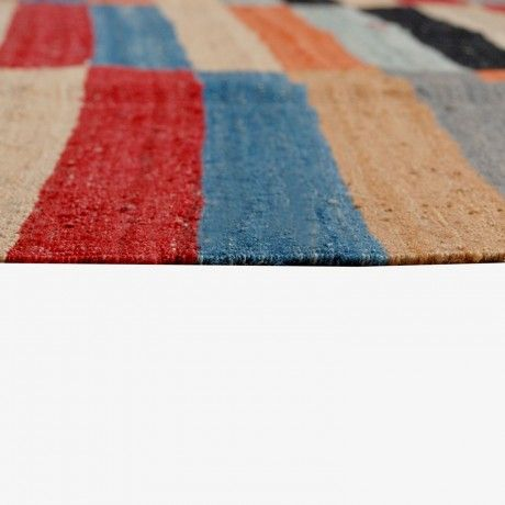 195x300 Contemporary Kilim by Design Innovations from Pakistan #MONOQI