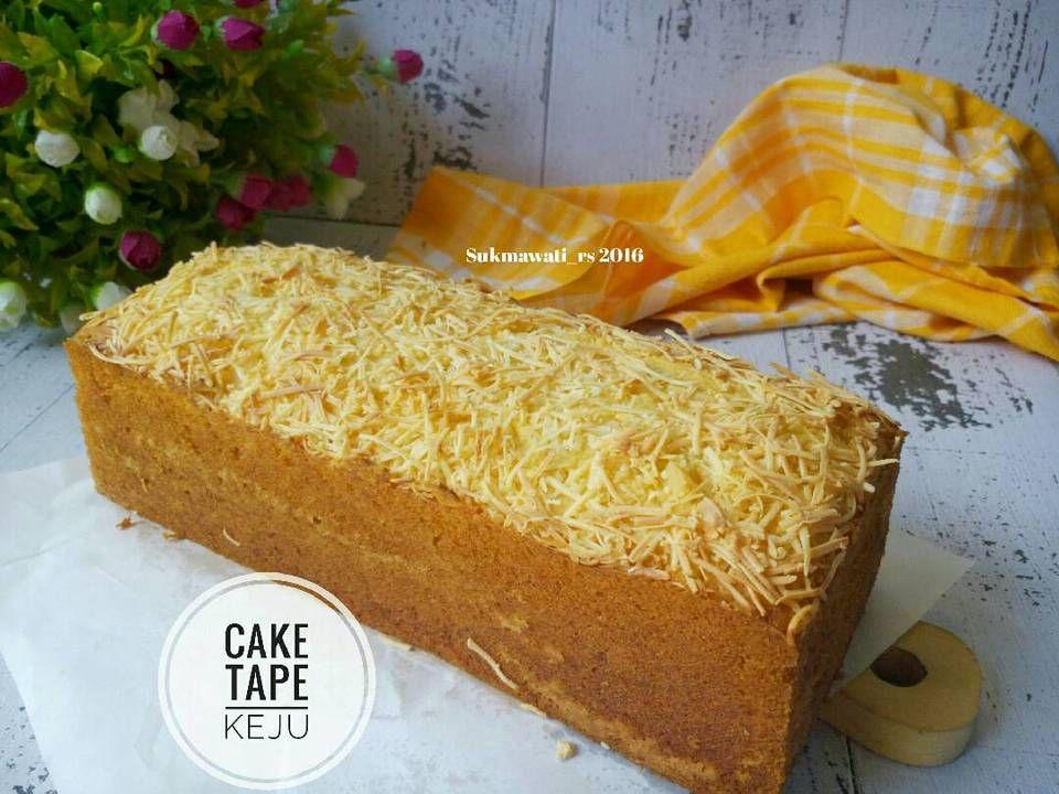 Resep Cake Tape Keju Oleh Sukmawati Rs Resep Makanan Manis Makanan Enak Makanan Dan Minuman