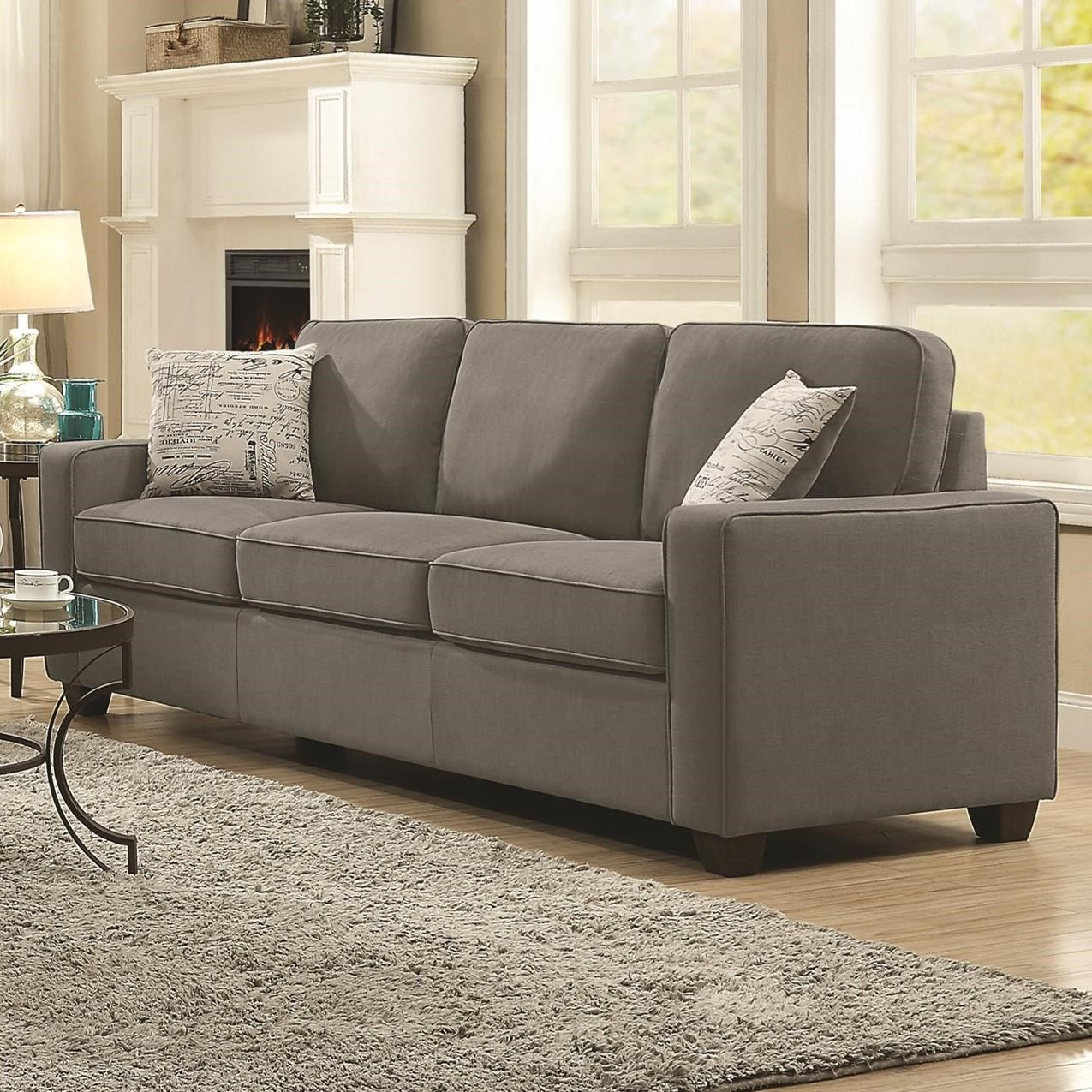 Best Bardem By Coaster Sofa Wth Casual Style By Coaster 400 x 300