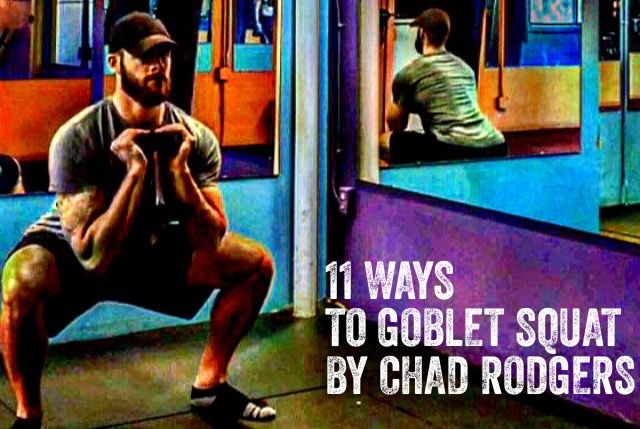 I am of the belief that no one, and I mean NO ONEis above the goblet squat. No one is too strong, too mobile, too in shape, or too advanced to grab a dumbbell or kettlebell and drop into the goble…