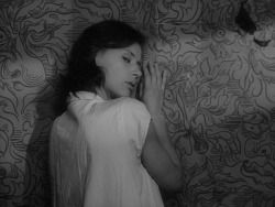 "les-sources-du-nil:  "" Harriet Andersson as Karin in Såsom i en spegel (Through a Glass Darkly)  Dir. Ingmar Bergman, Sweden, 1961  """