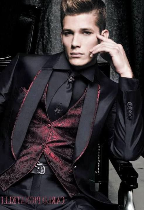 Luv the tuxedo | Men\'s Hair | Pinterest | Gothic, Wedding and Prom