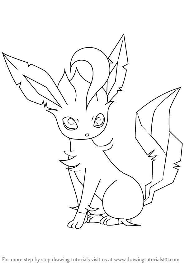 Leafeon Pokemon Coloring Page Youngandtae Com Pokemon Coloring Pages Pokemon Coloring Pokemon Sketch