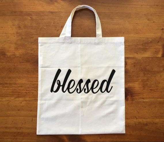 Christian Tote Blessed Tote Lightweight by SignsOfTruthCompany ...