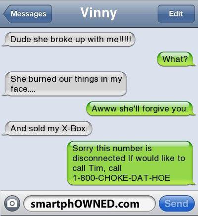 Relationships Vinnydude She Broke Up With Me What She Burned