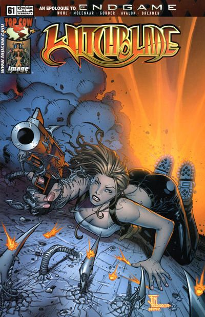 Cover for Witchblade (Image. 1995 series) #61 | Artistas