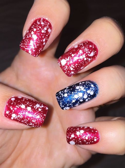 Memorial Day - Nail Art Gallery | Nails | Pinterest | Arte de uñas ...