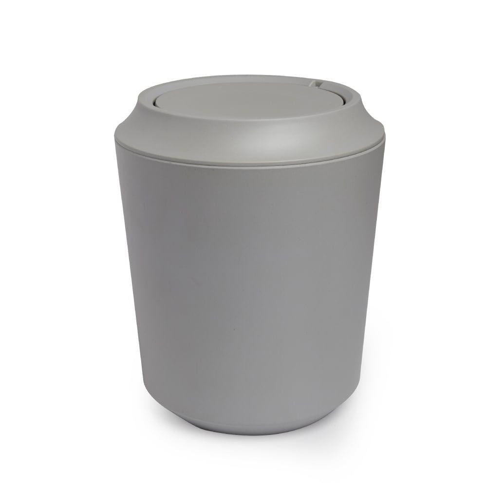 Fiboo Bathroom Waste Bin   Grey