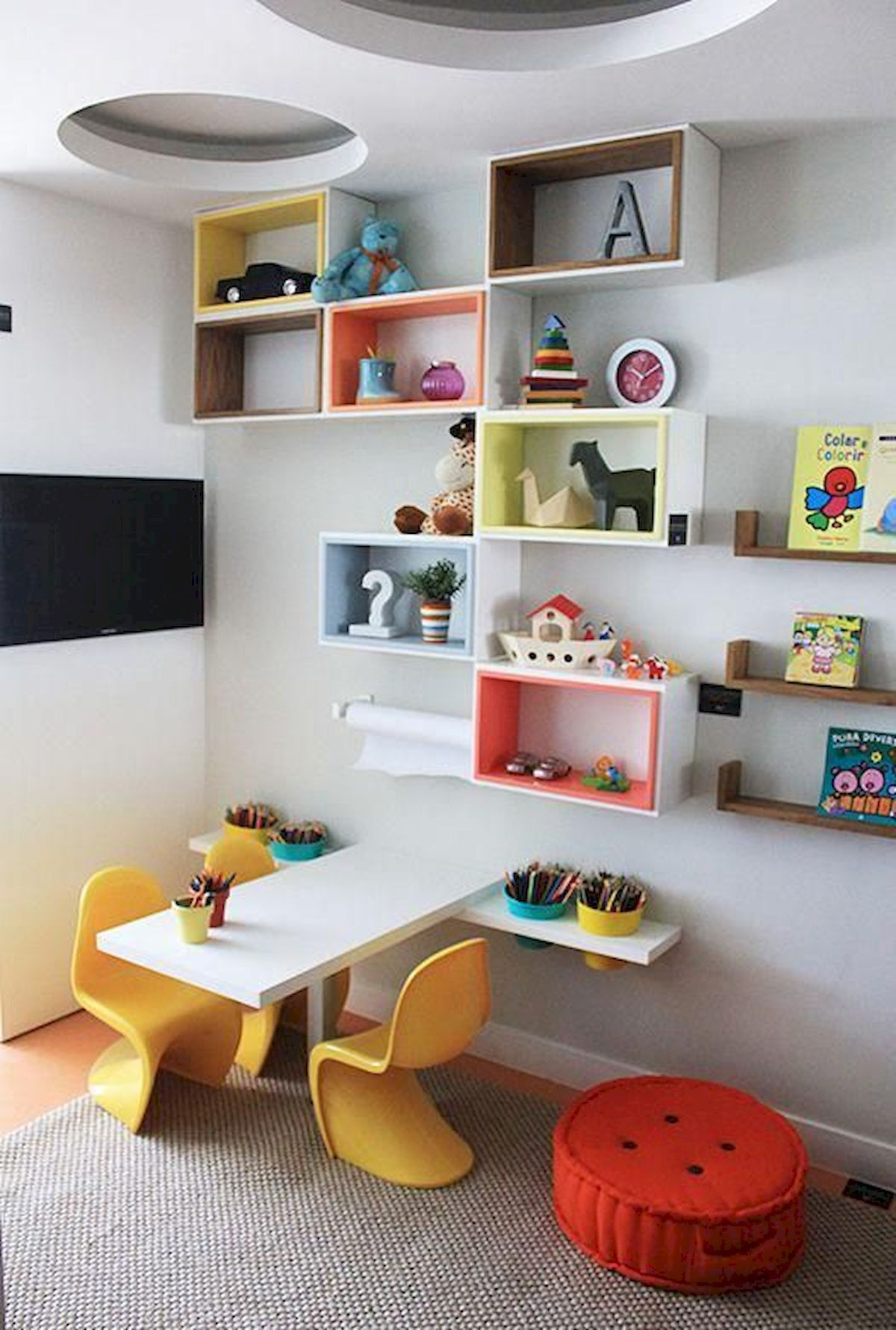 Storage Ideas For Rooms And Children's Playgrounds images