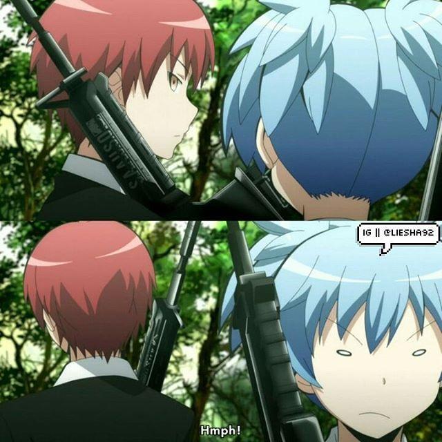 Winter 2016 Ansatsu Kyoushitsu Assassination Classroom Season 2 Episode 17 Ongoing Assassination Classroom Assasination Classroom Anime Romance