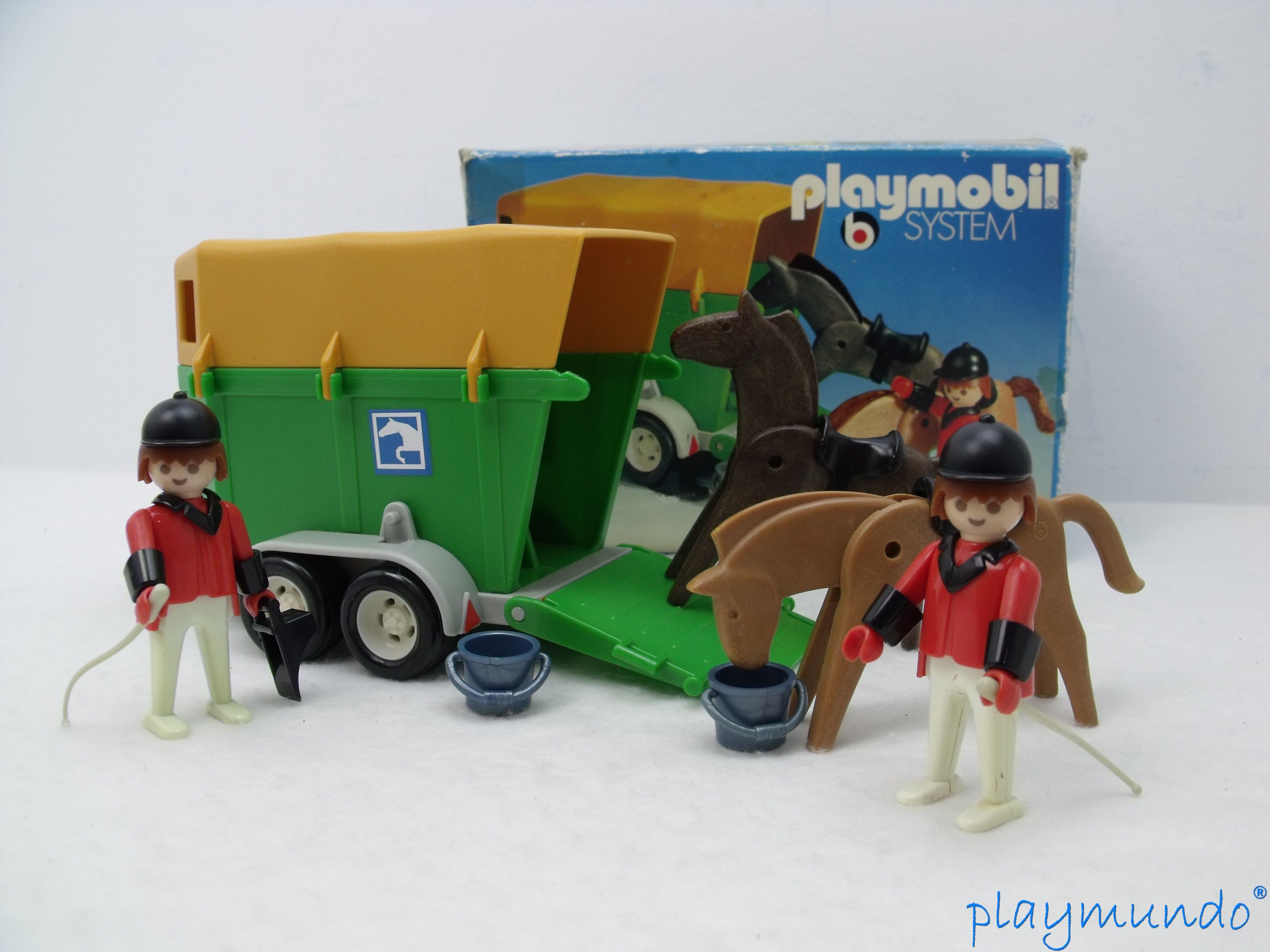 Playmobil babyzimmer ~ Playmobil remolque hipica playmundo