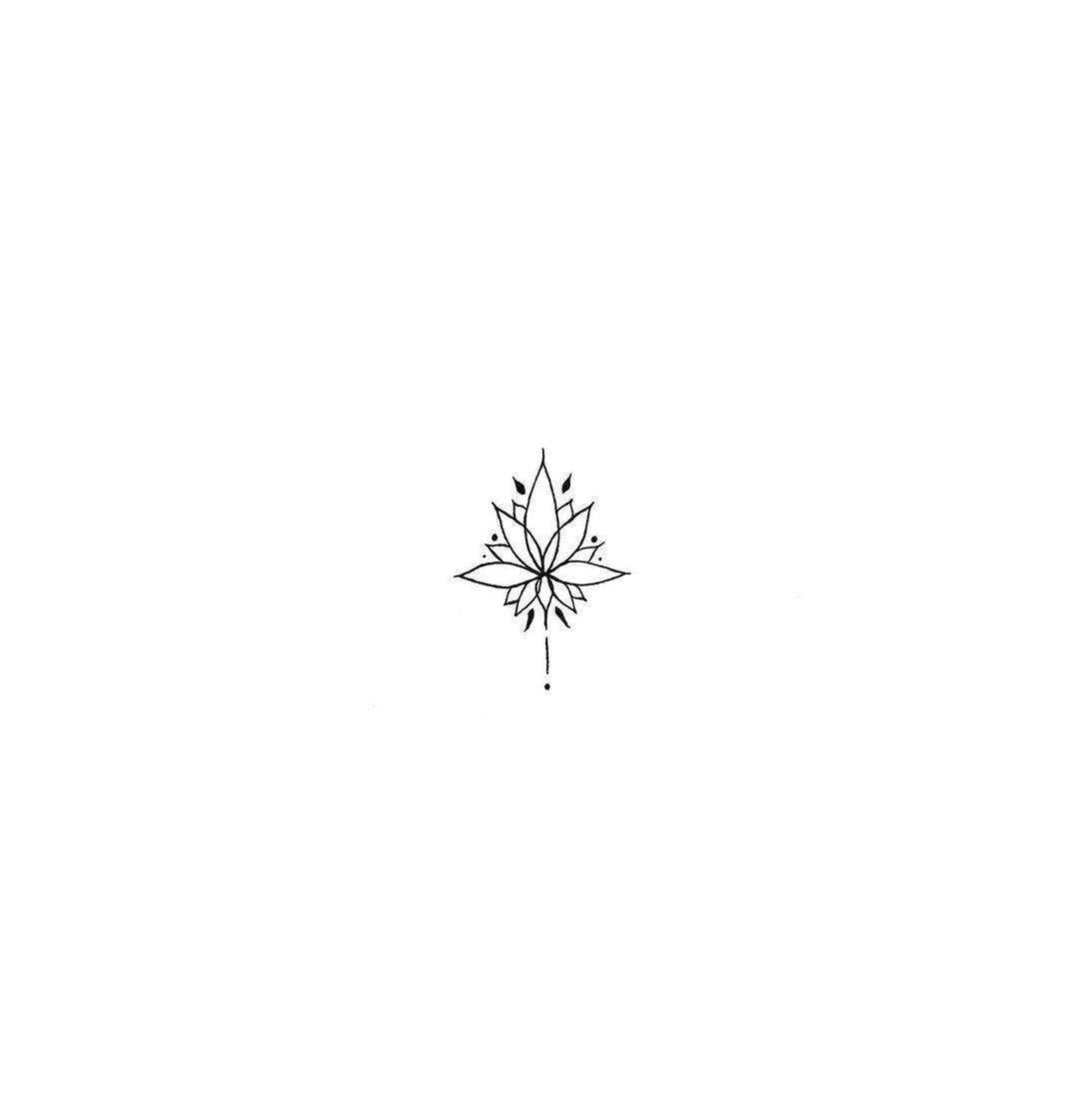 """Photo of Mamo on Instagram: """"121. Keep it simple. • Minimal lotus • """""""