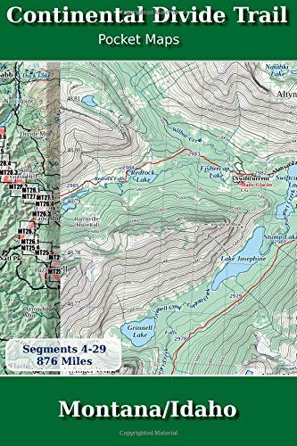 Continental Divide Trail Pocket Maps - Montana/Idaho by K Scott Parks