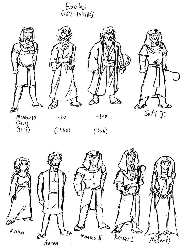 Printable coloring pages for sunday school - Bible Characters Coloring Pages