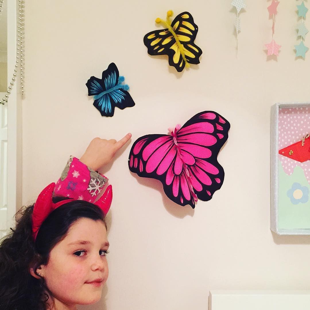 Hoy hacemos estas mariposas de goma eva en el canal las - Mariposas goma eva ...