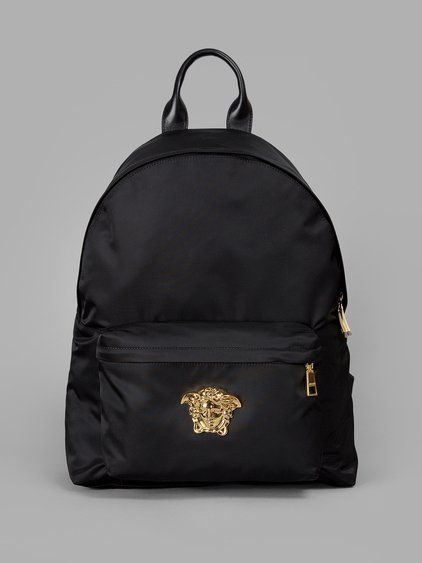 05e556f908e VERSACE Versace Men S Black Backpack.  versace  bags  nylon  backpacks