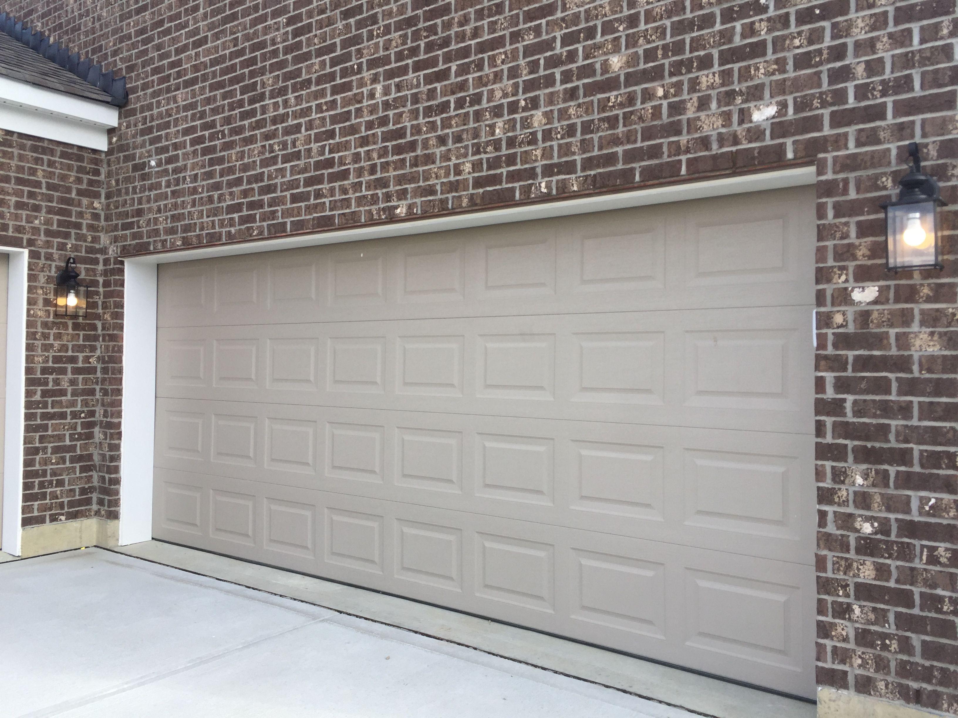 170 Series Garage Door In Sandstone Garage Doors Doors Garage