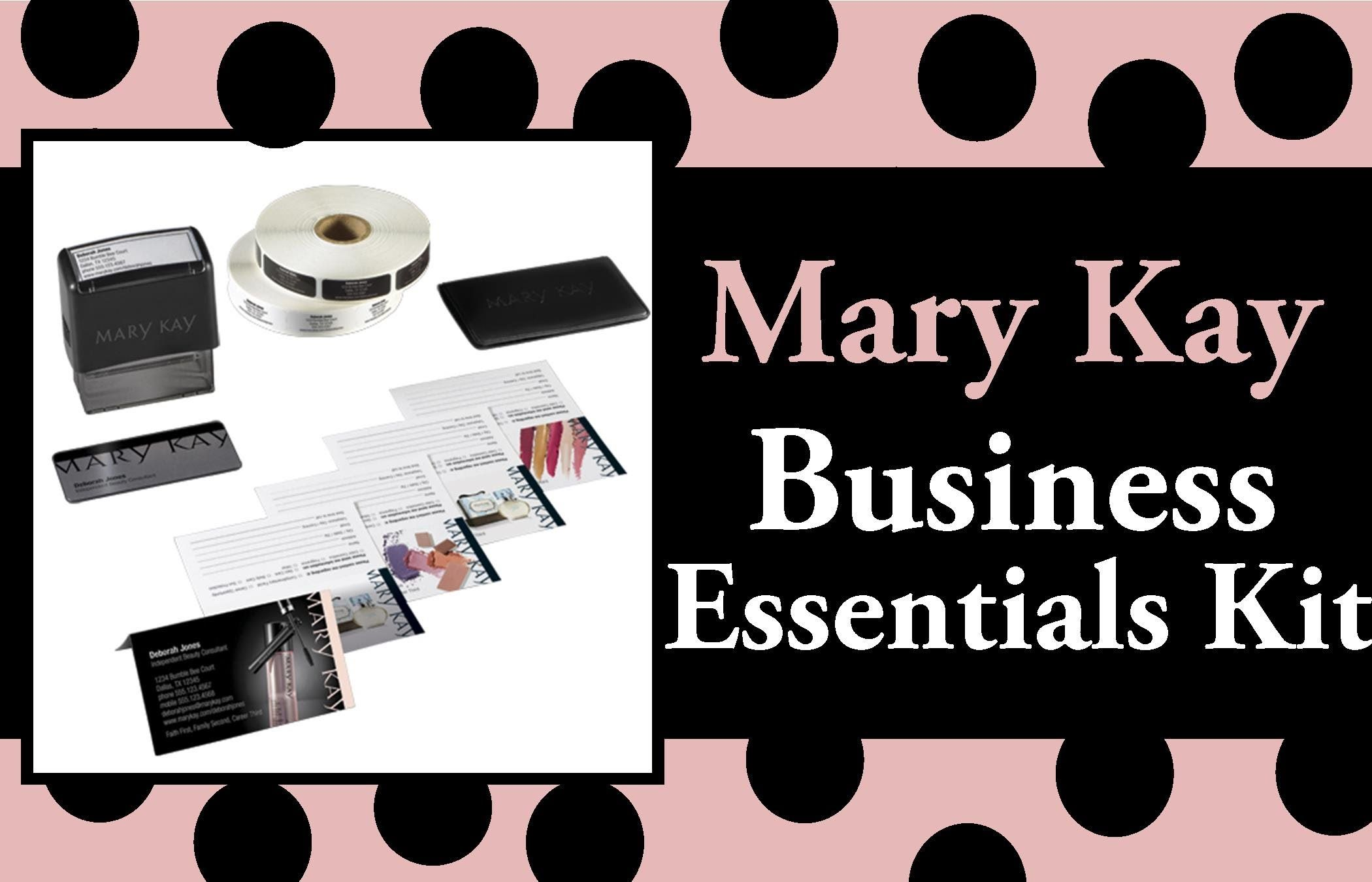 The Mary Kay Business Essentials Kit - Your Promotional Tools #MaryKay #Business #Marketing #Sales #BusinessOpportunity