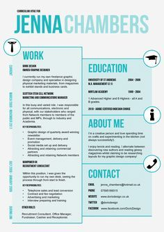 Graphic Design Resume Template  Google Search  Resume Templates