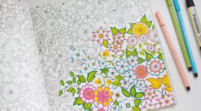 Yuk Mewarnai 5 Alasan Kenapa Anda Harus Coba Hobi Ini Warna Doodle Sketsa