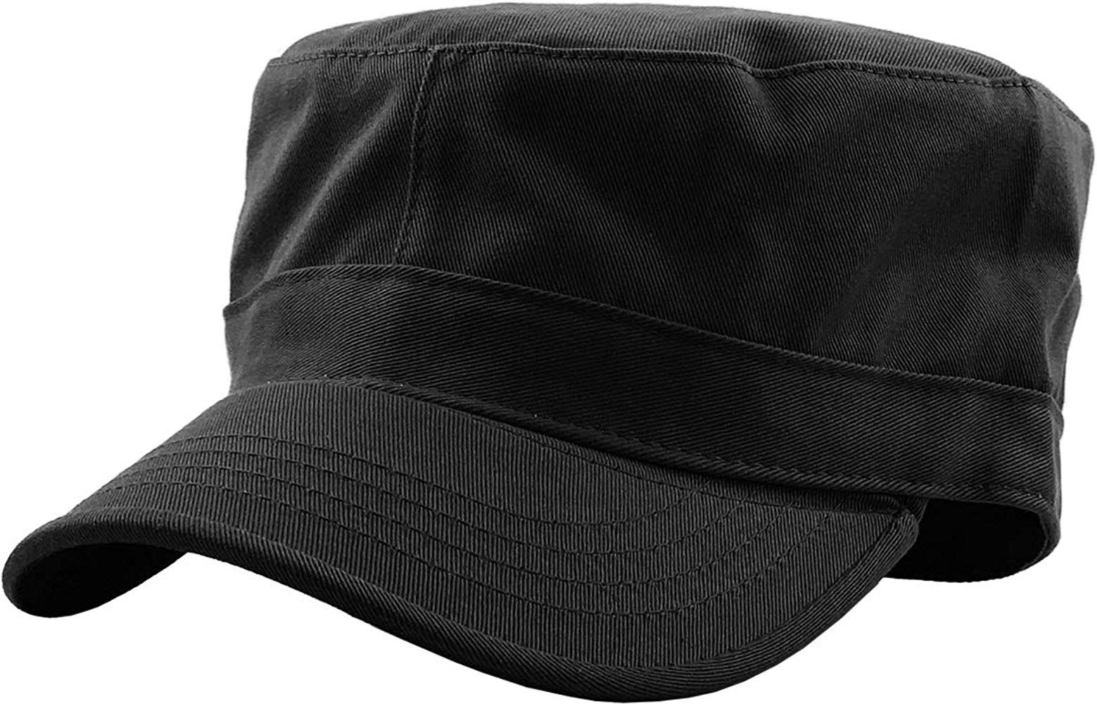 Kbk 1464 Blk M Cadet Army Cap Basic Everyday Military Style Hat At Amazon Men S Clothing Store Hat Fashion Military Fashion Hats For Short Hair