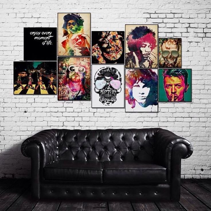 Image result for rock and roll bedroom decor also wall art pinterest rh ar