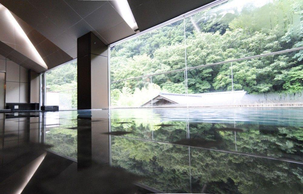 Yomogino Ryokan Hot Spa / Ryuichi Sasaki + Sasaki Architecture | Spa ...